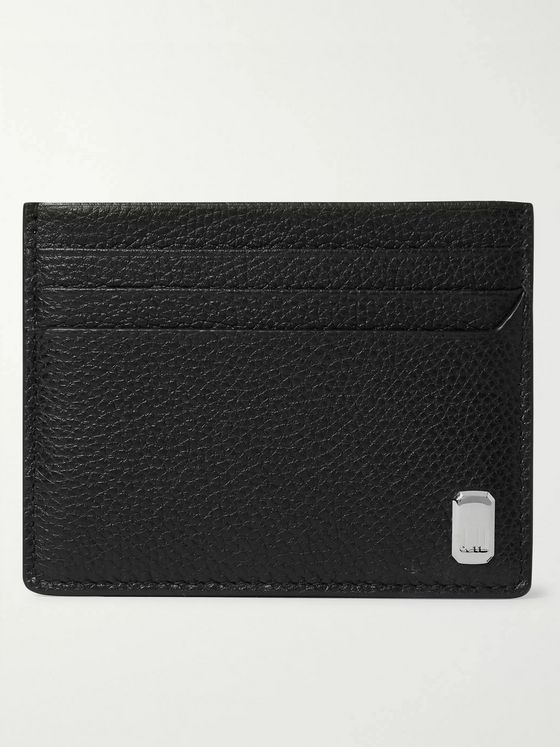 DUNHILL Belgrave Full-Grain Leather Cardholder