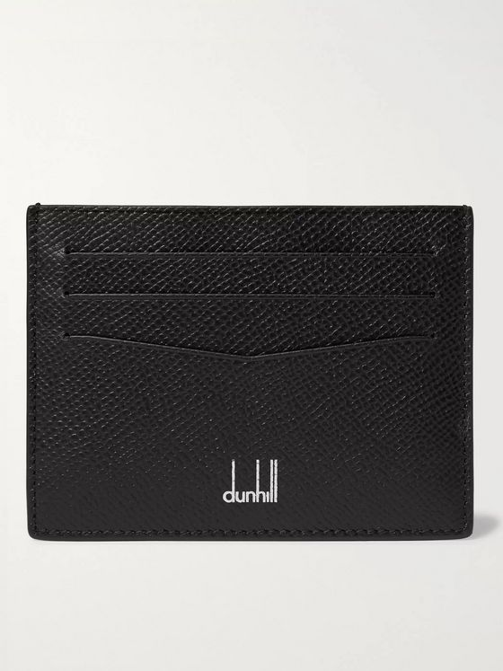DUNHILL Cadogan Full-Grain Leather Cardholder