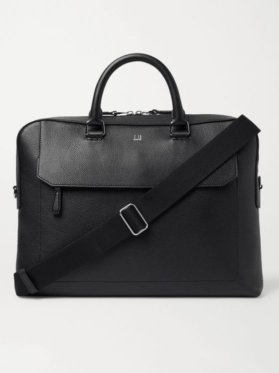 DUNHILL Belgrave Full-Grain Leather Briefcase