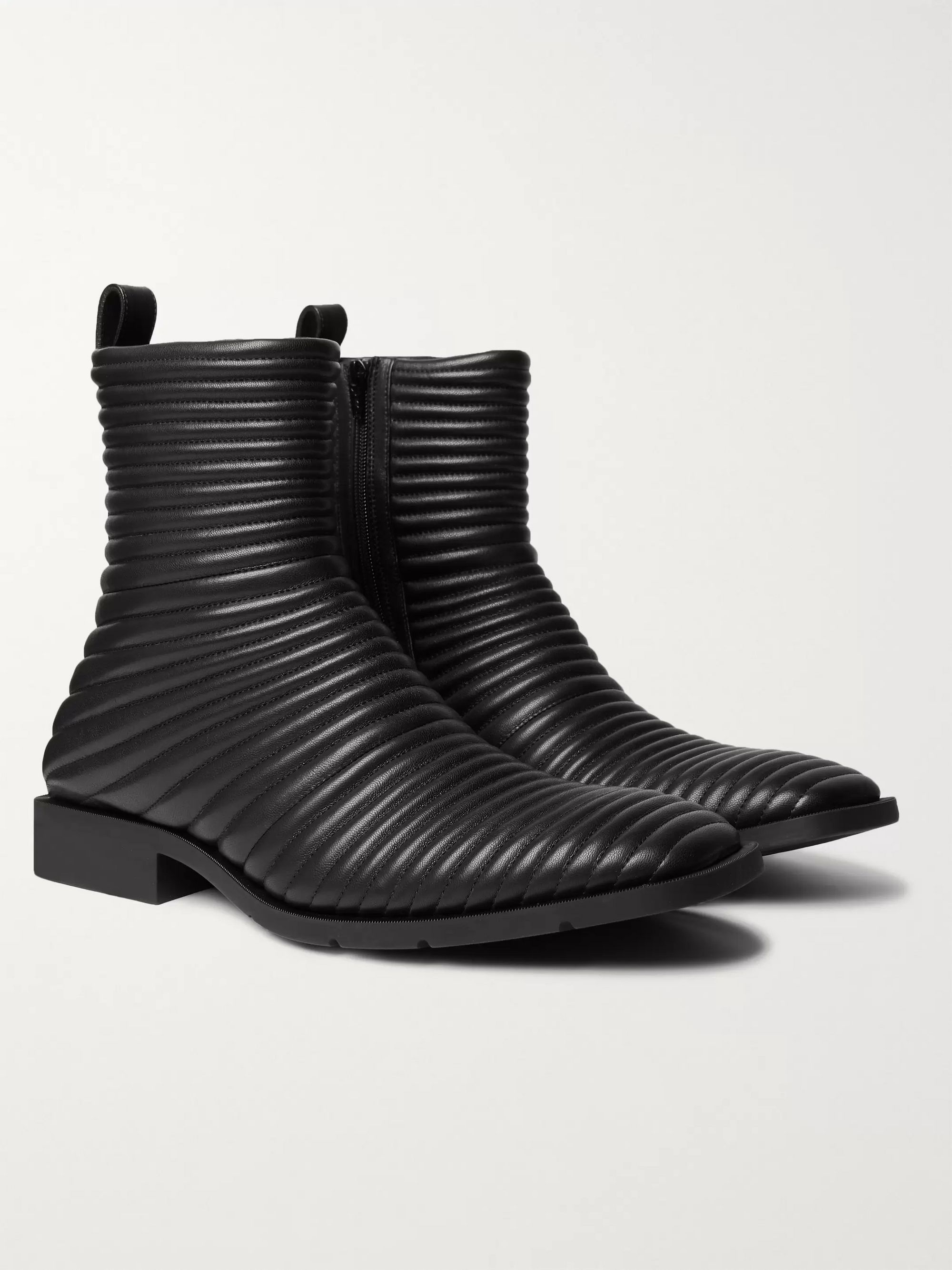 Balenciaga Quilted Leather Boots