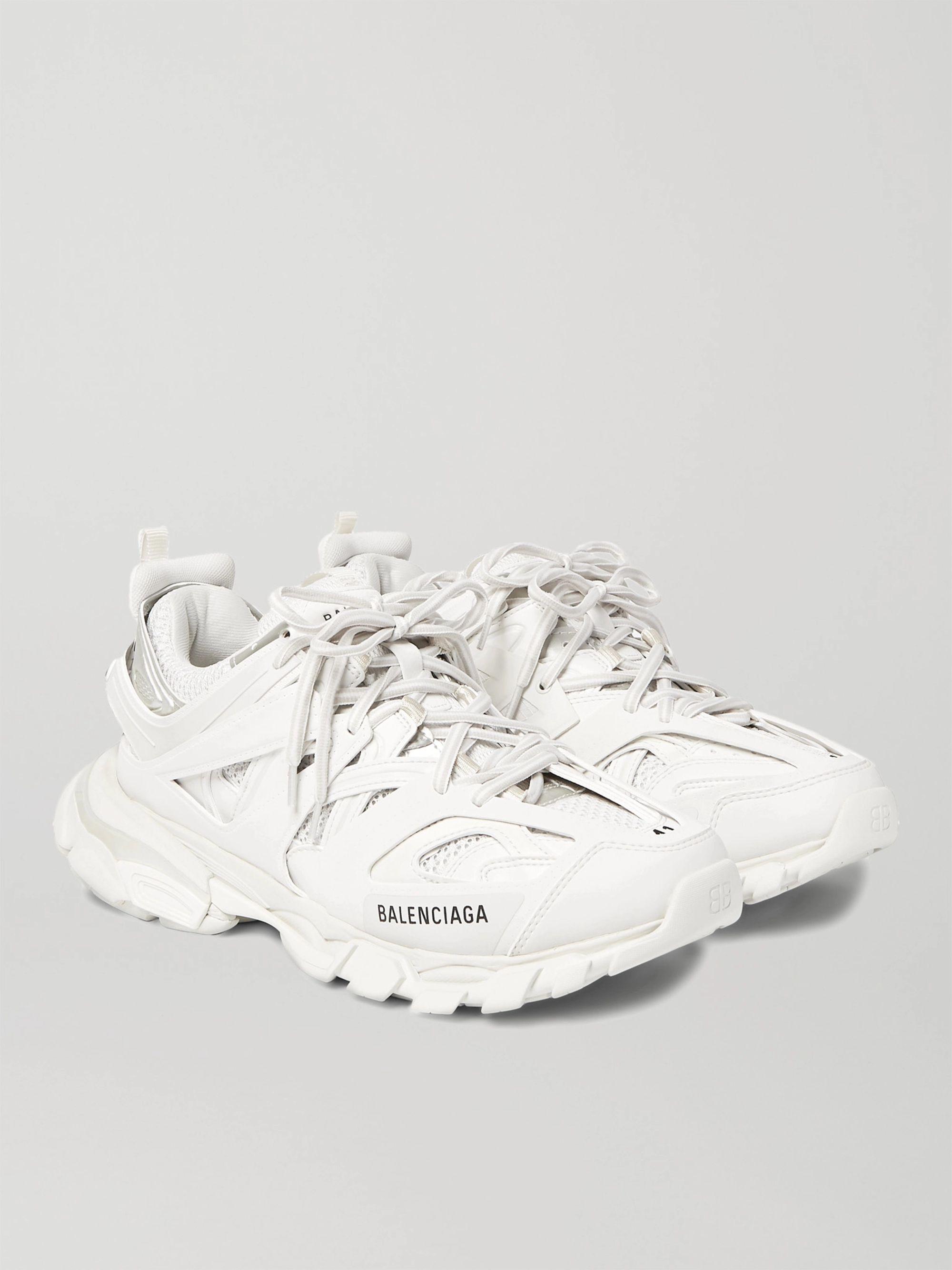 balenciaga white tennis shoes