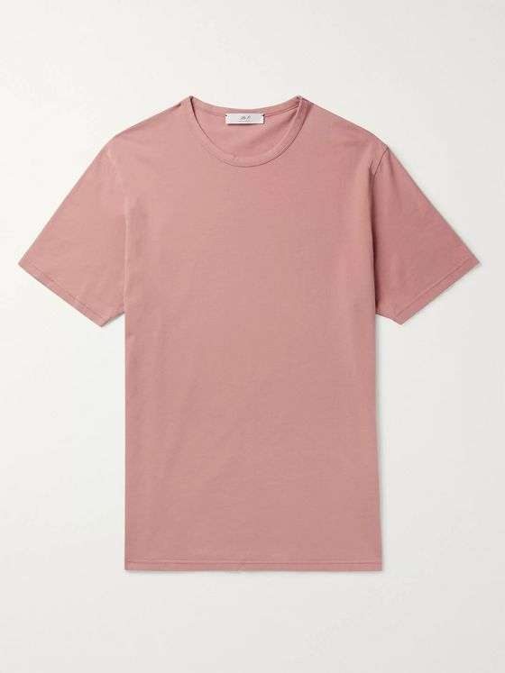 Mr P. Garment-Dyed Cotton-Jersey T-Shirt