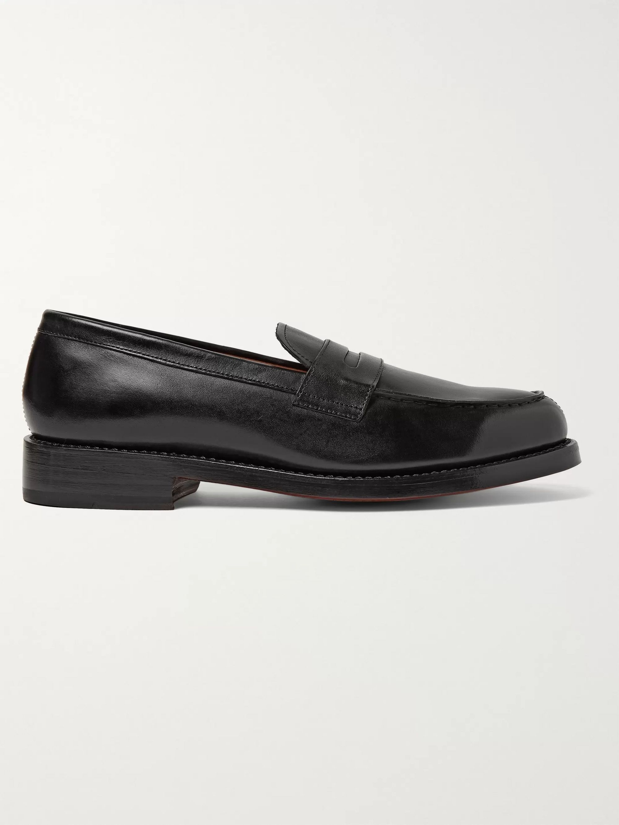 Grenson Peter Leather Penny Loafers
