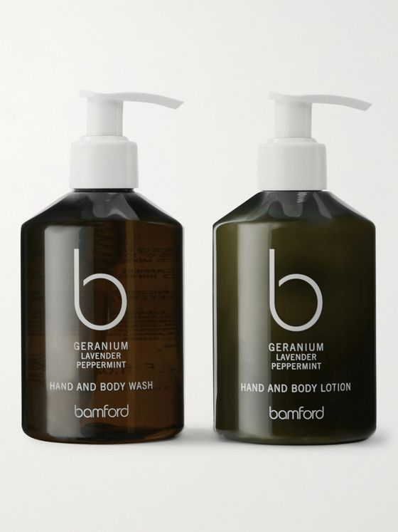 Bamford Grooming Department Geranium Hand and Body Duo Gift Set