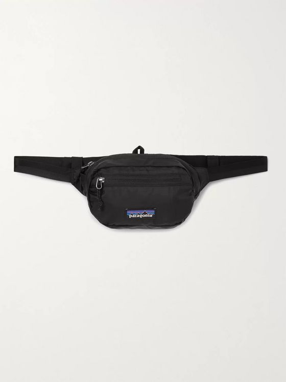 PATAGONIA Ultralight Black Hole Mini Packable Coated-Ripstop Belt Bag