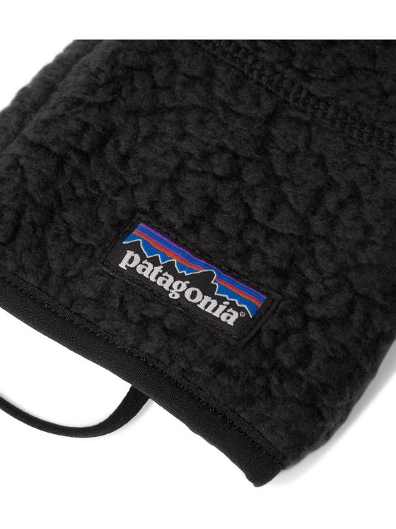 PATAGONIA Retro Pile Nylon-Panelled Polartec Fleece Gloves