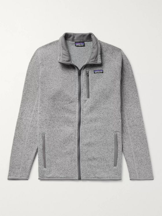 Patagonia Better Sweater Fleece-Back Knitted Jacket