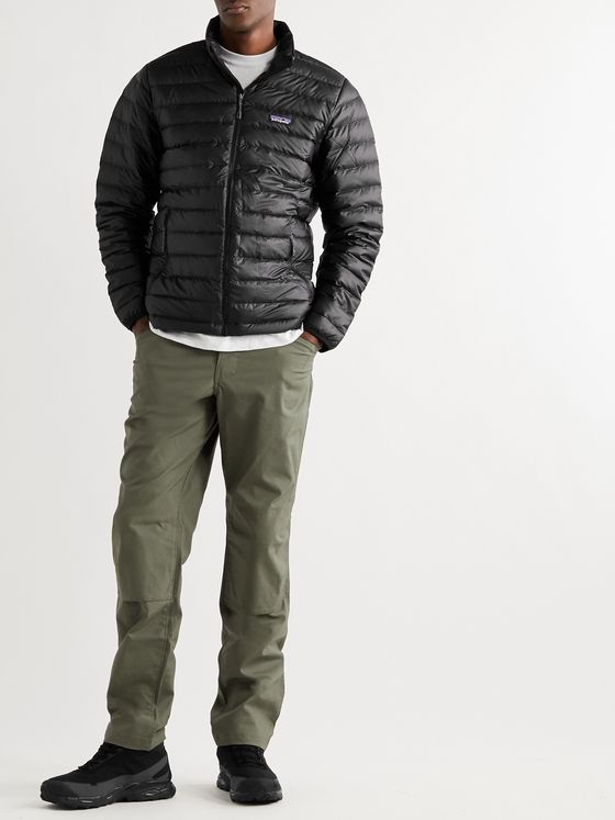 PATAGONIA Quilted DWR-Coated Ripstop Shell Down Jacket
