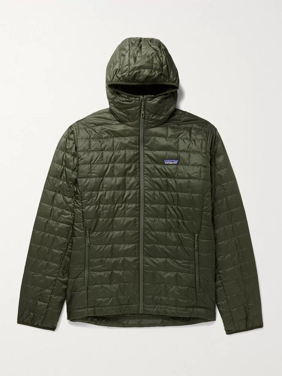 PATAGONIA Nano Puff Quilted Shell Primaloft Hooded Jacket