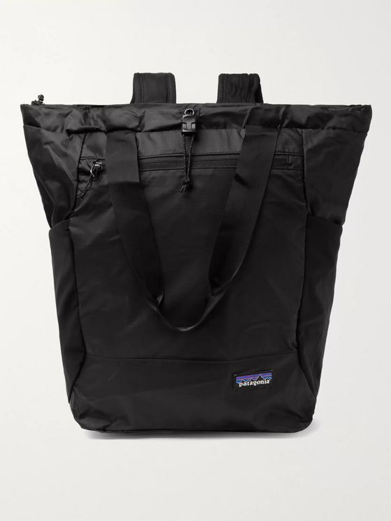 Patagonia Ultralight Black Hole Recycled Nylon Tote Bag