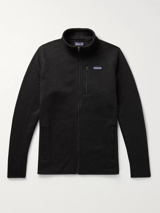 Patagonia Better Sweater Mélange Fleece-Back Knitted Jacket