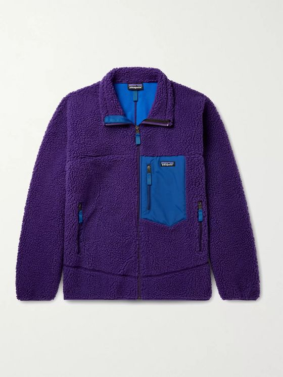 PATAGONIA Classic Retro-X Shell-Trimmed Fleece Jacket
