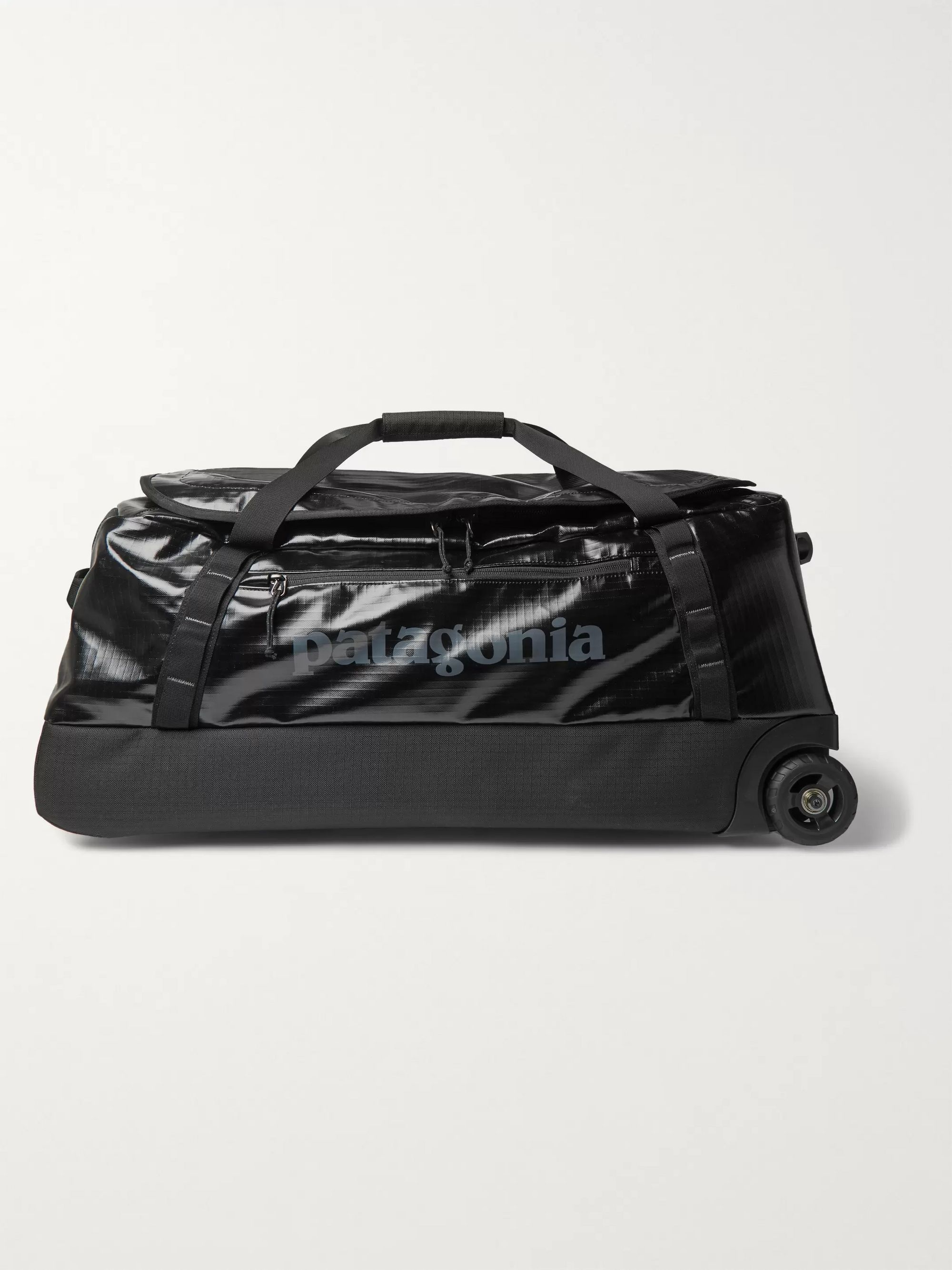 파타고니아 더플백 Patagonia Black Hole 70L Coated-Ripstop Wheeled Duffle Bag,Black