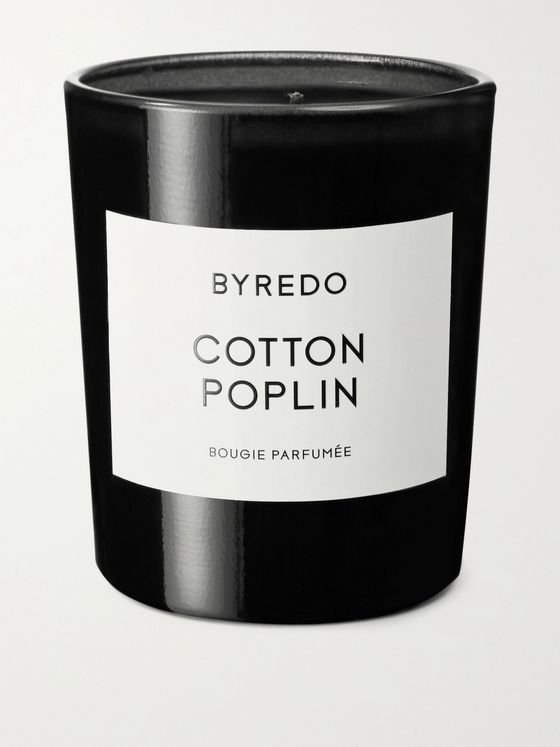 Byredo Cotton Poplin Scented Candle, 70g