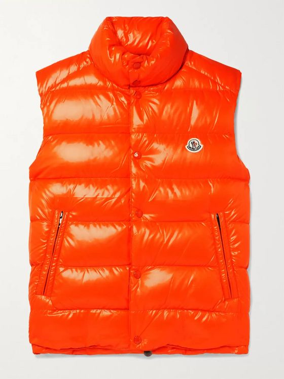 Moncler Logo-Appliquéd Quilted Shell Down Gilet