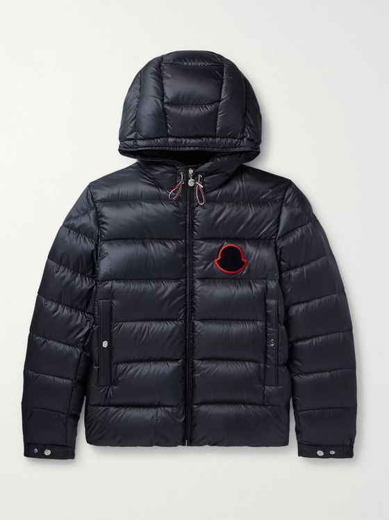 Moncler Sassiere Quilted Shell Hooded Down Jacket
