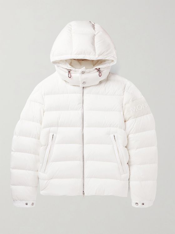 MONCLER Aravis Hooded Quilted Shell Down Jacket