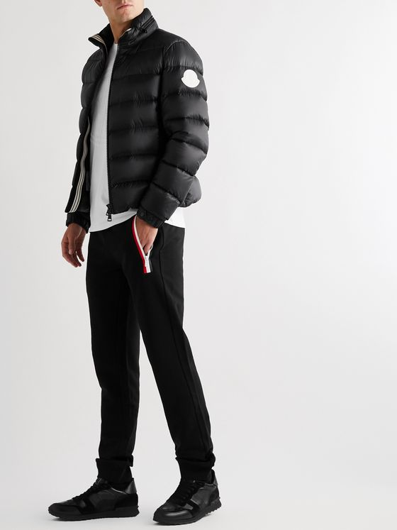 Moncler Soreiller Slim-Fit Logo-Appliquéd Quilted Shell Down Jacket