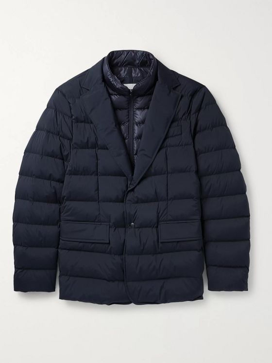 Moncler Ferrander Quilted Shell Down Jacket