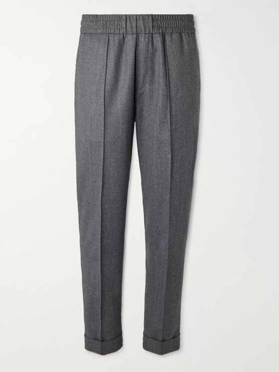 Moncler Mélange Wool Trousers