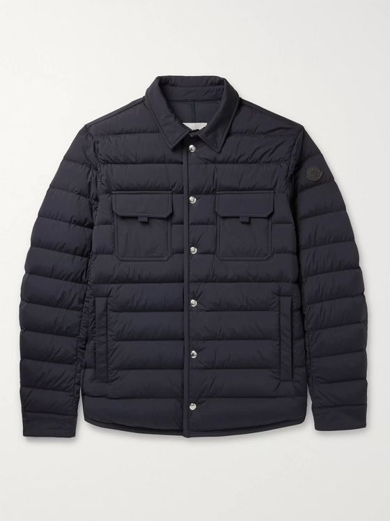 Moncler Zumstein Quilted Shell Down Jacket