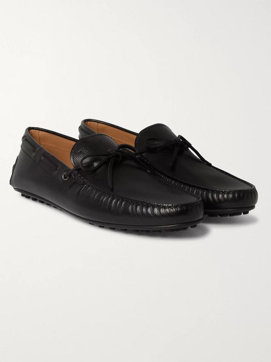 Tod's City Full-Grain Leather Driving Shoes