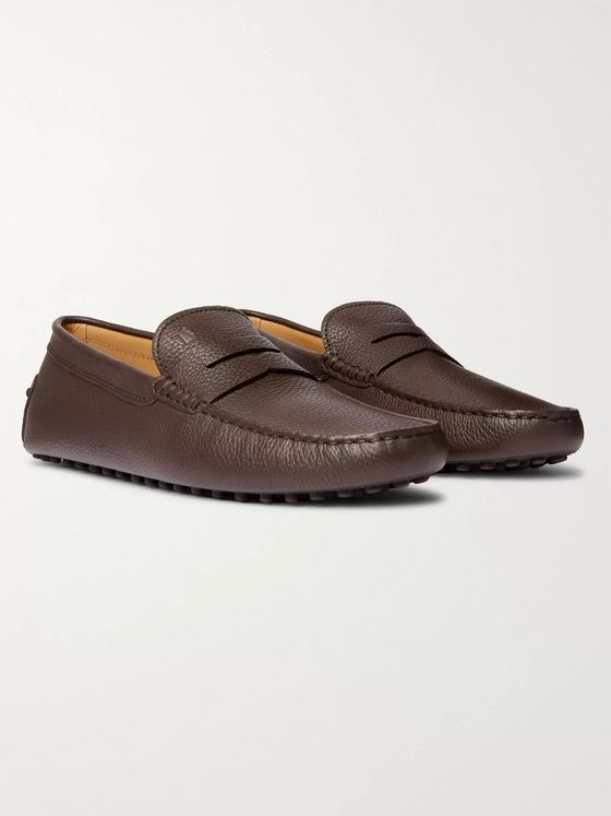 Tod's Gommino Full-Grain Leather Penny Loafers