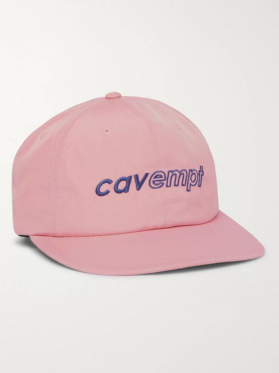 Cav Empt Logo-Embroidered Shell Baseball Cap