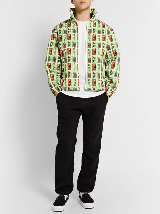 Cav Empt Printed Quilted Shell Jacket