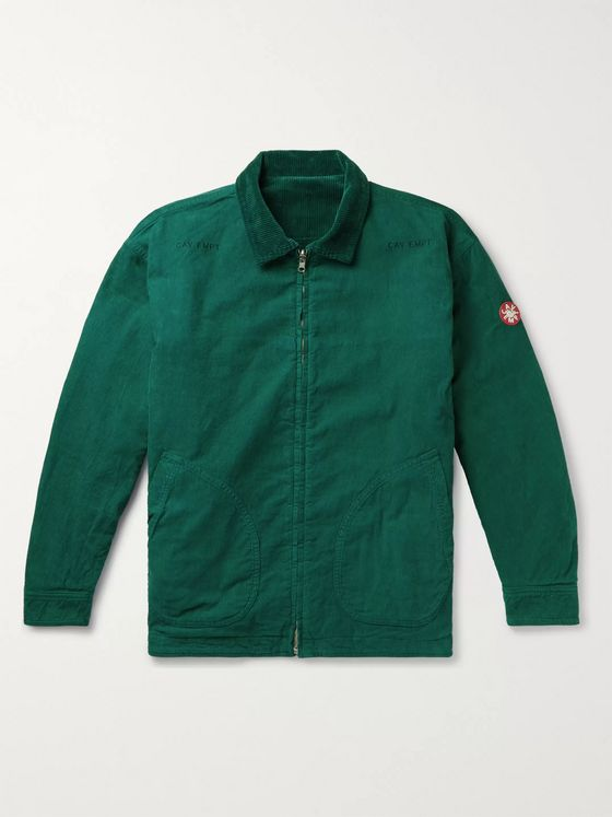 Cav Empt Reversible Cotton-Corduroy Jacket