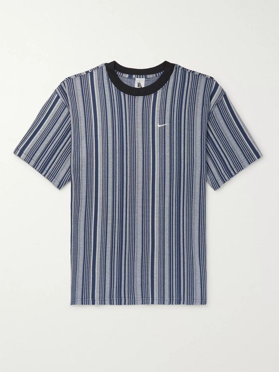 Nike NRG Striped Cotton-Jersey T-Shirt
