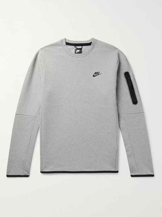 NIKE Mélange Tech Fleece Sweatshirt