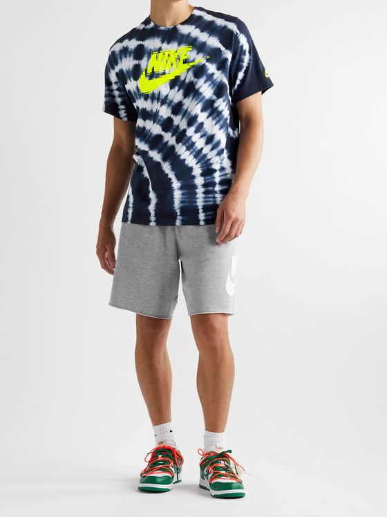 Nike Sportswear Alumni Loopback Cotton-Blend Jersey Drawstring Shorts