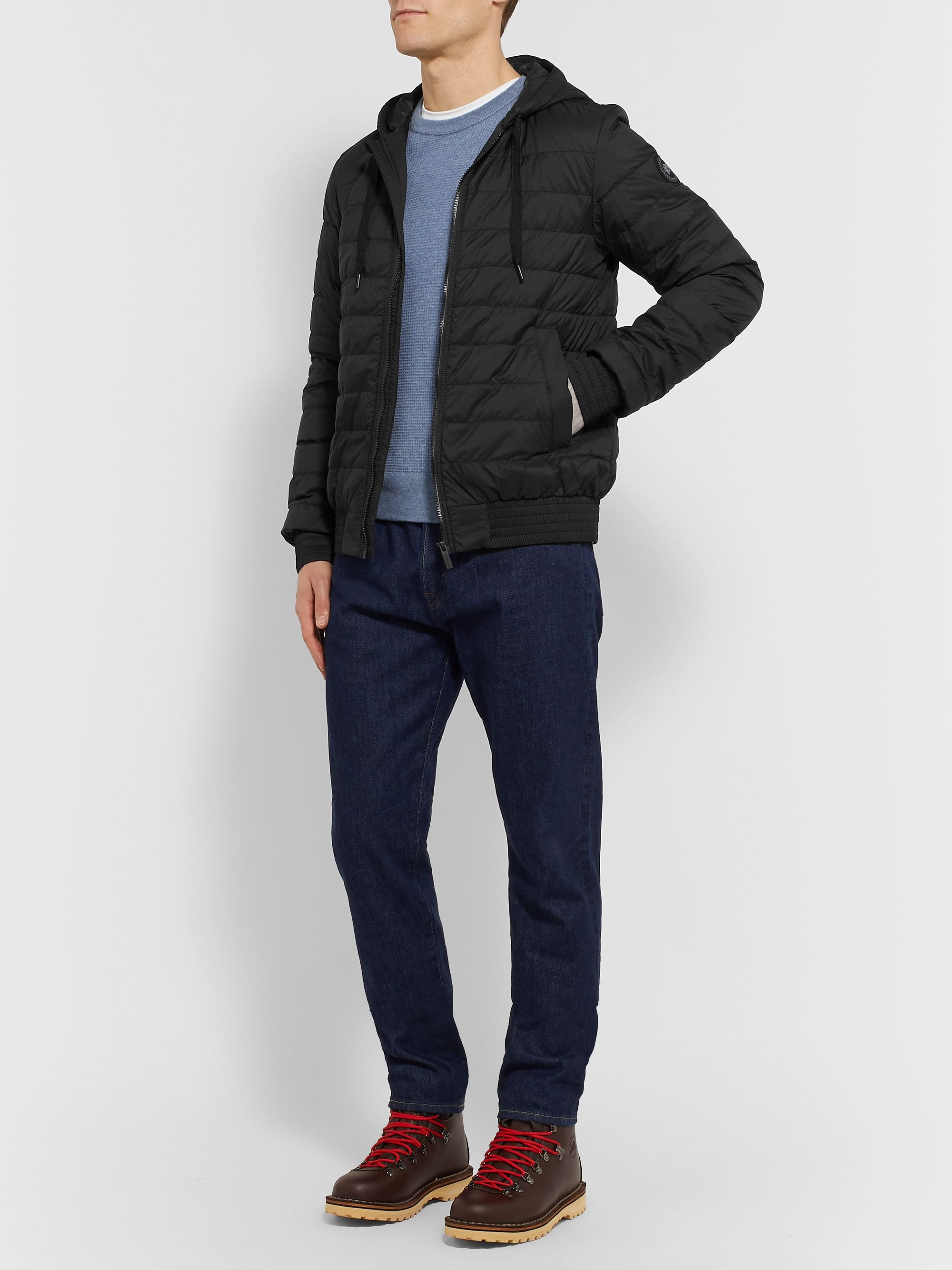 Canada Goose Sydney Slim-Fit Quilted Feather-Light Ripstop Hooded Down Jacket
