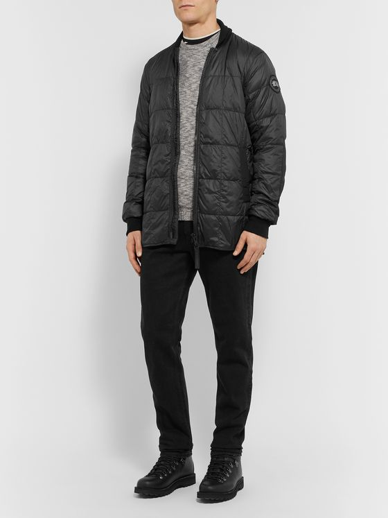Canada Goose Harbord Quilted Shell Down Bomber Jacket