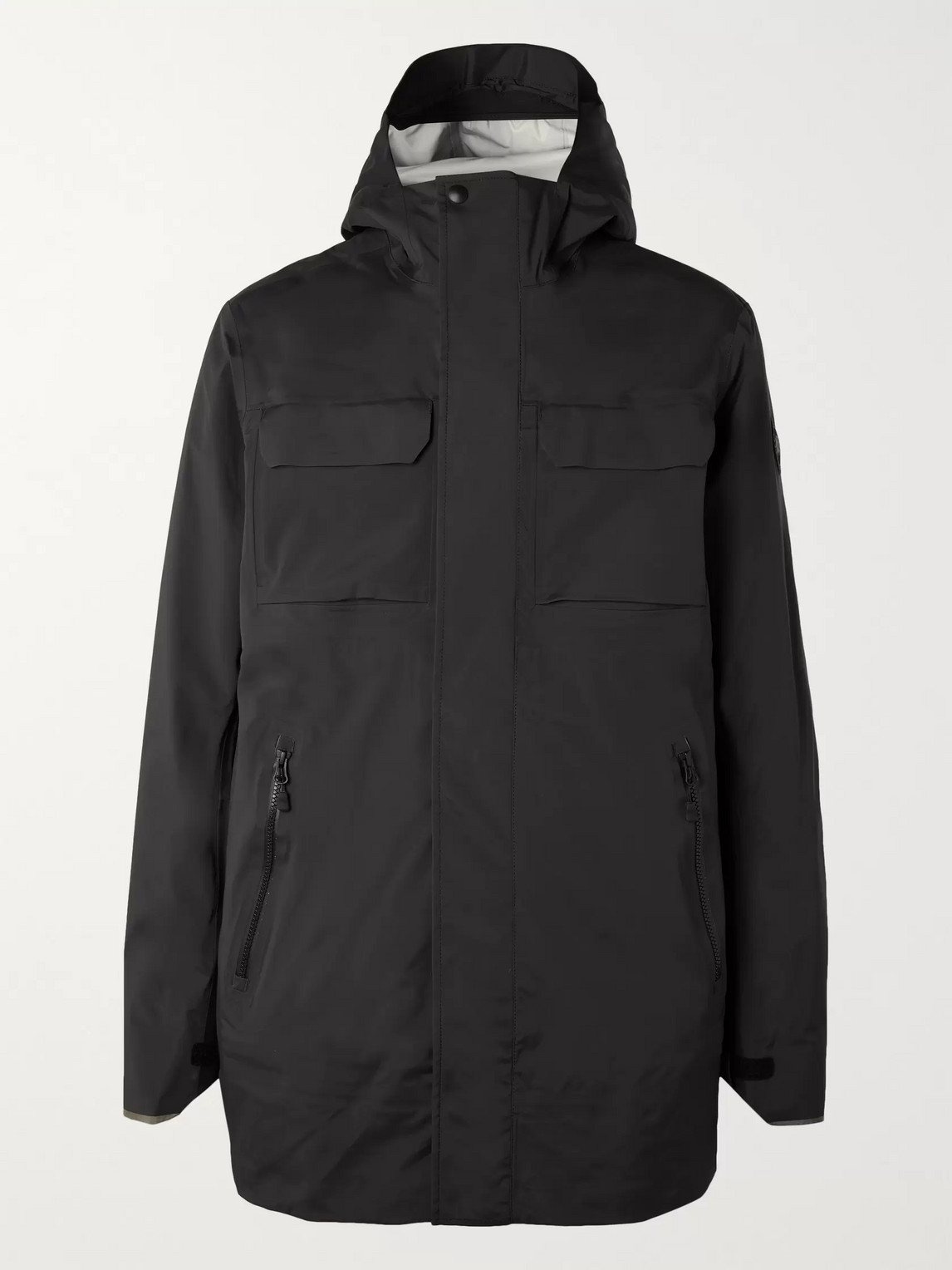 canada goose - wascana tri-durance hooded jacket - men - black