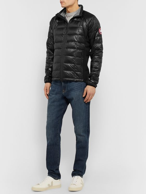 Canada Goose HyBridge Lite Slim-Fit Quilted Feather-Light 10D Shell and Tensile-Tech Down Jacket