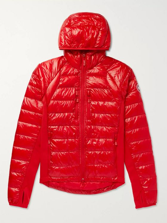 Canada Goose HyBridge Lite Slim-Fit Quilted Feather-Light 10D and Tensile-Tech Hooded Down Jacket