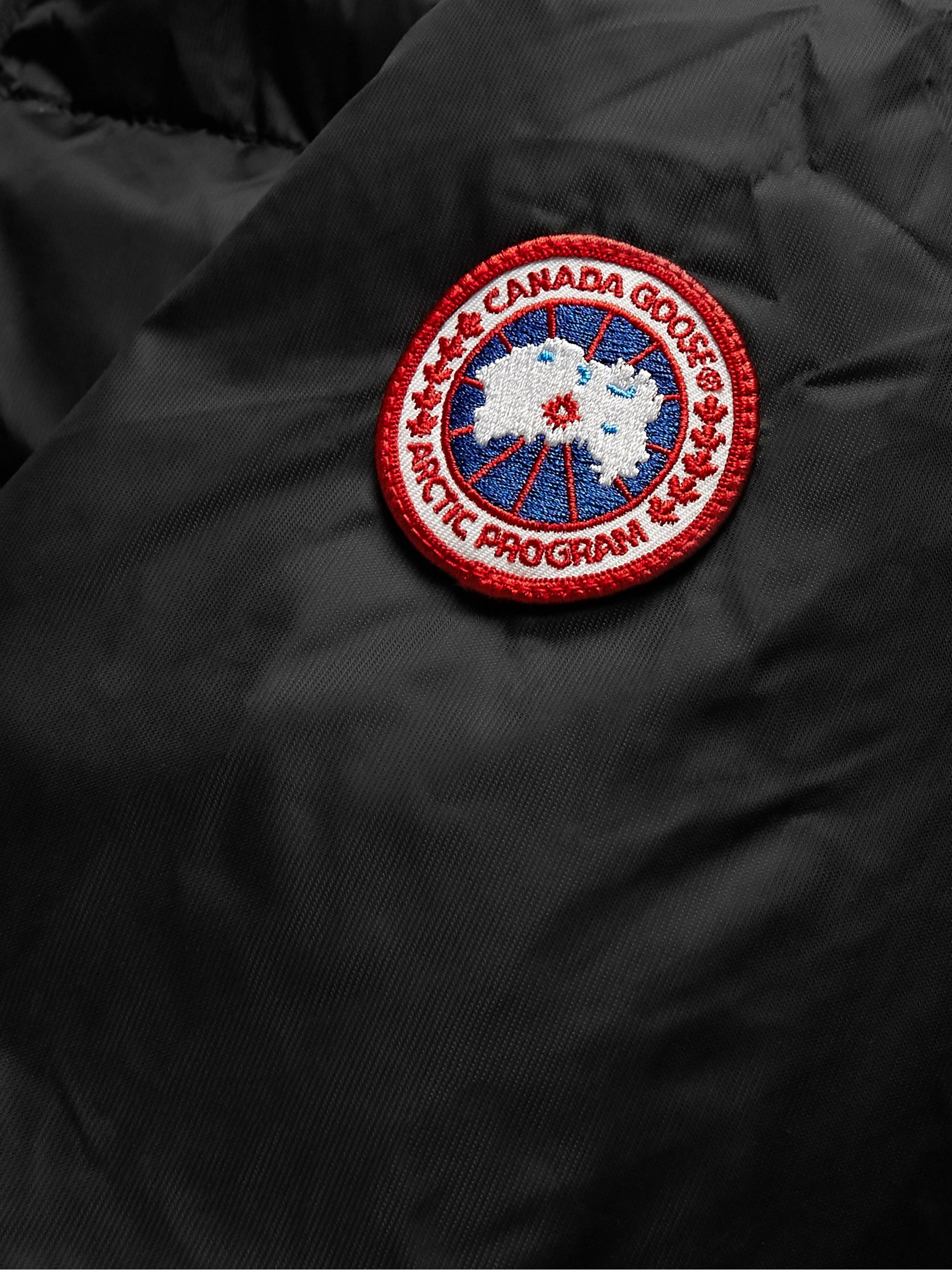 Canada Goose HyBridge Quilted Nylon Down Jacket