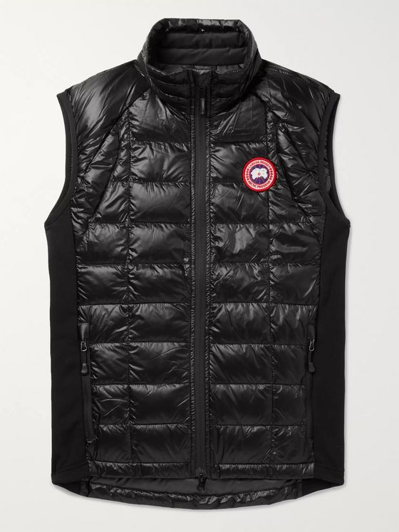 Canada Goose HyBridge Lite Slim-Fit Quilted Feather-Light 10D Shell and Tensile-Tech Down Gilet
