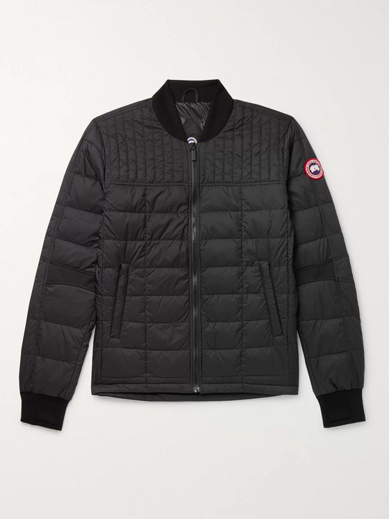 Canada Goose Dunham Slim-Fit Packable Quilted Shell and Stretch-Jersey Down Jacket
