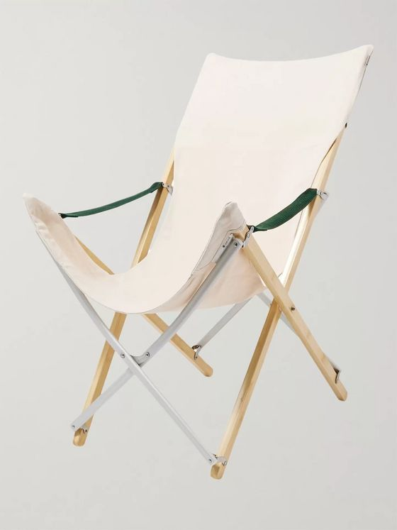 Snow Peak Take! Bamboo and Canvas Chair