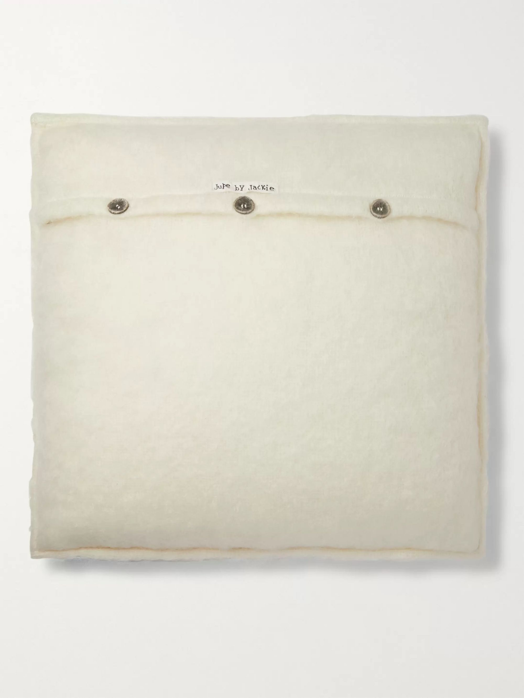 Jupe by Jackie Embroidered Mohair Cushion Cover