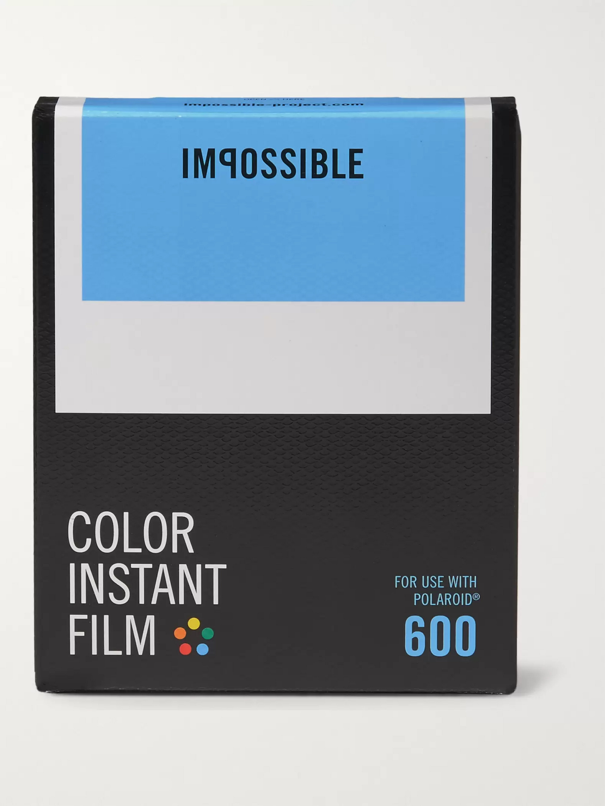 impossible Project Polaroid 600 Black & White Instant Film