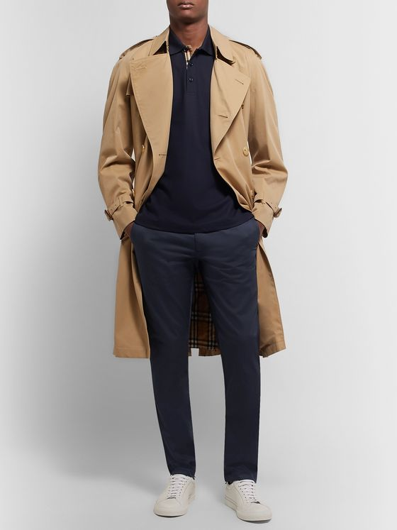 Burberry Slim-Fit Cotton-Twill Chinos