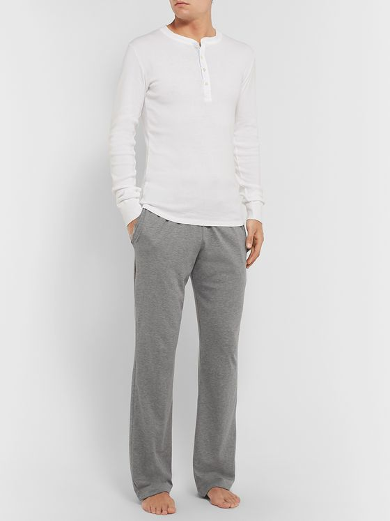 Schiesser Cotton-Jersey Pyjama Trousers