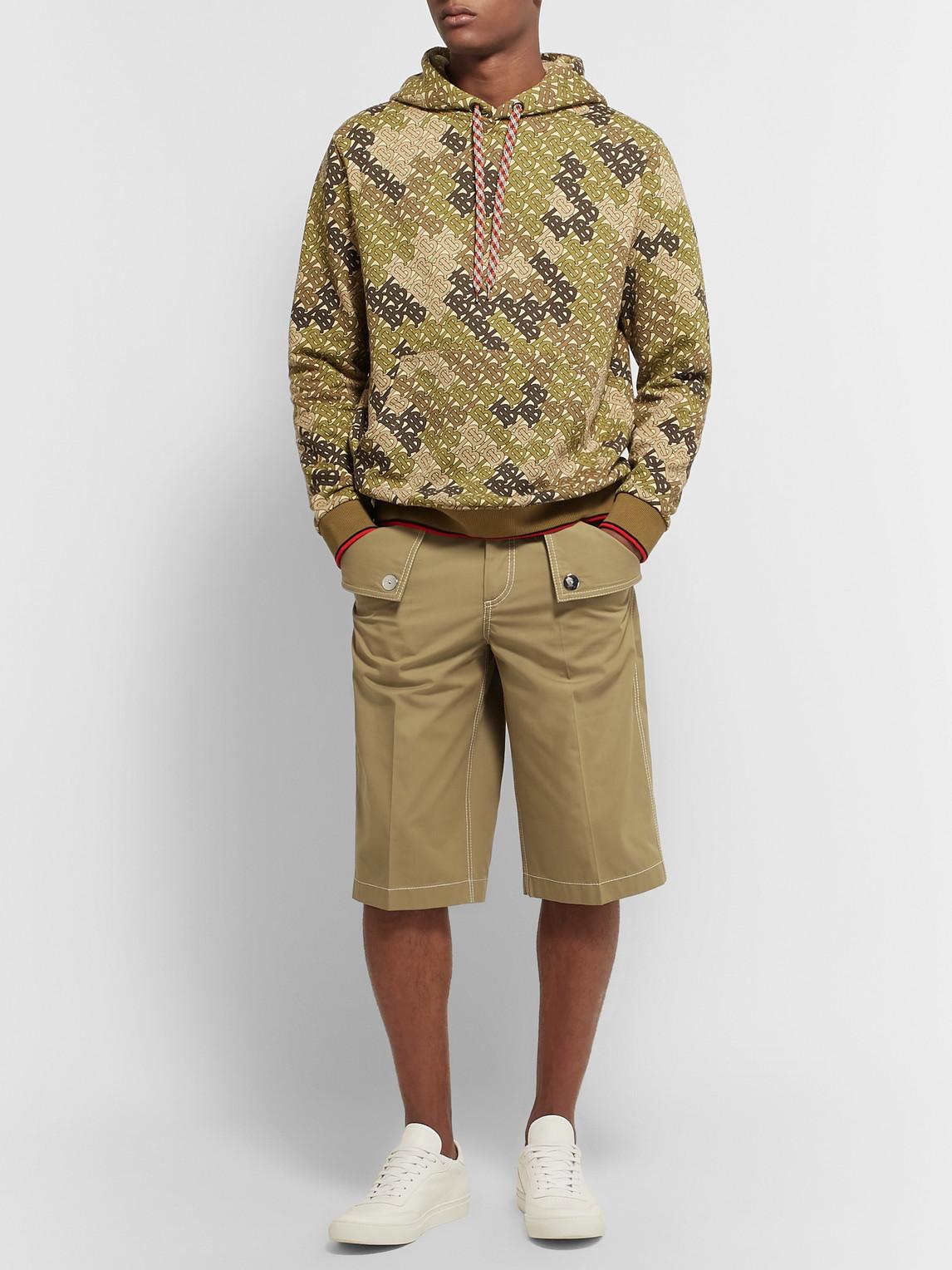 Burberry Shorts COTTON-TWILL BERMUDA SHORTS