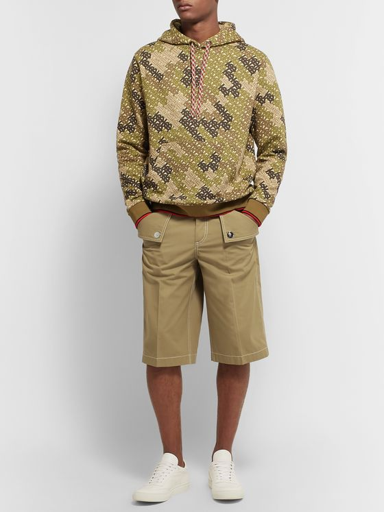 Burberry Cotton-Twill Bermuda Shorts