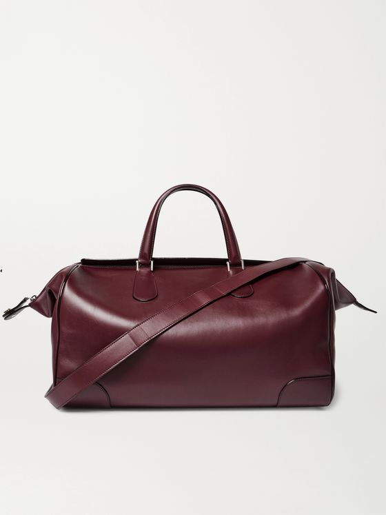 VALEXTRA Portofino Leather Holdall