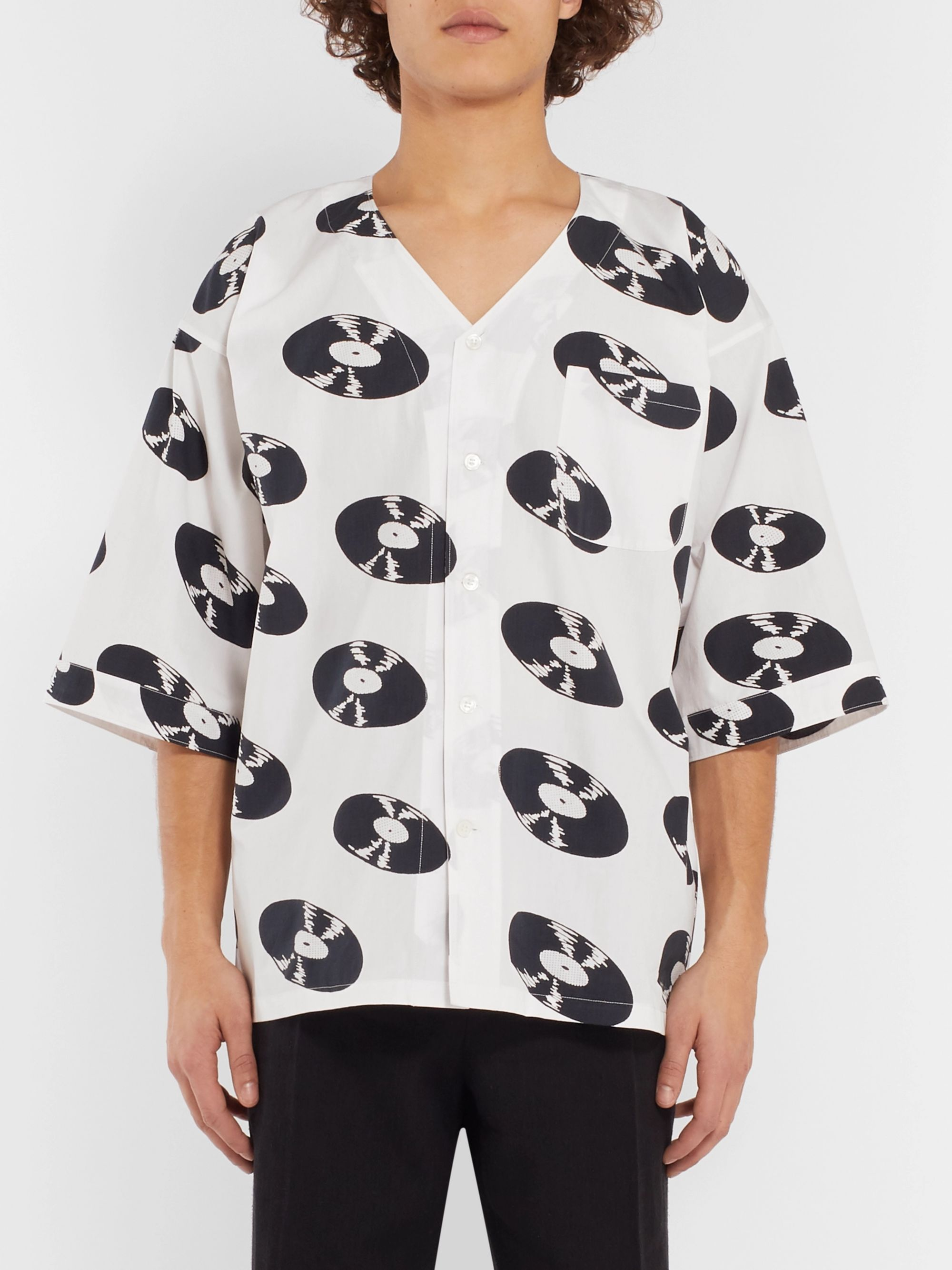 Wacko Maria Printed Cotton Shirt